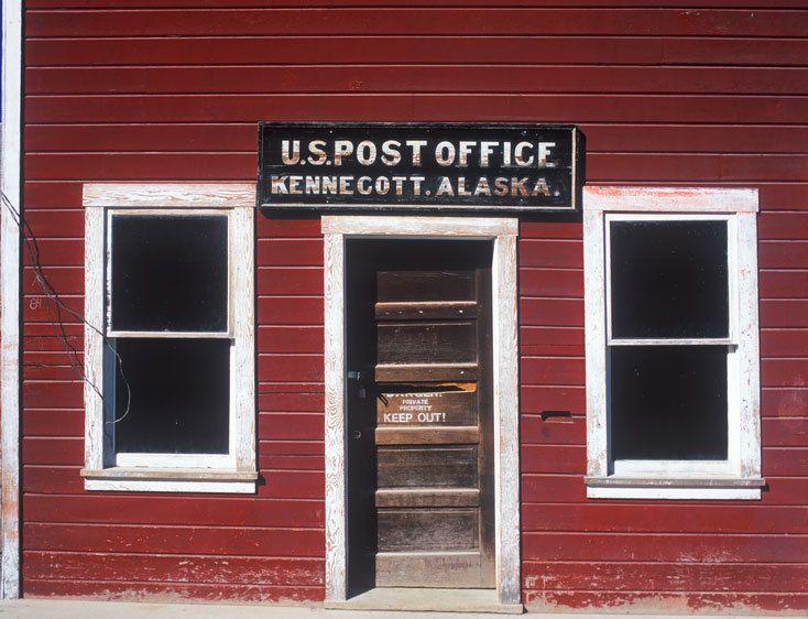 U.S. POST OFFICE, KENNECOTTWRANGELL-ST. ELIAS NATIONAL PARK, ALASKAIMAGE # 11479