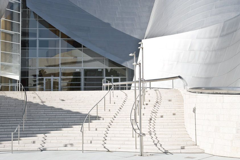 STAIRS, DISNEY CONCERT HALLLOS ANGELES, CALIFORNIAIMAGE # 11678