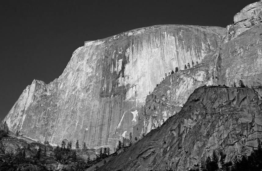 HALF DOME, EVENING LIGHTYOSEMITE NATIONAL PARK, CALIFORNIAIMAGE # 11600