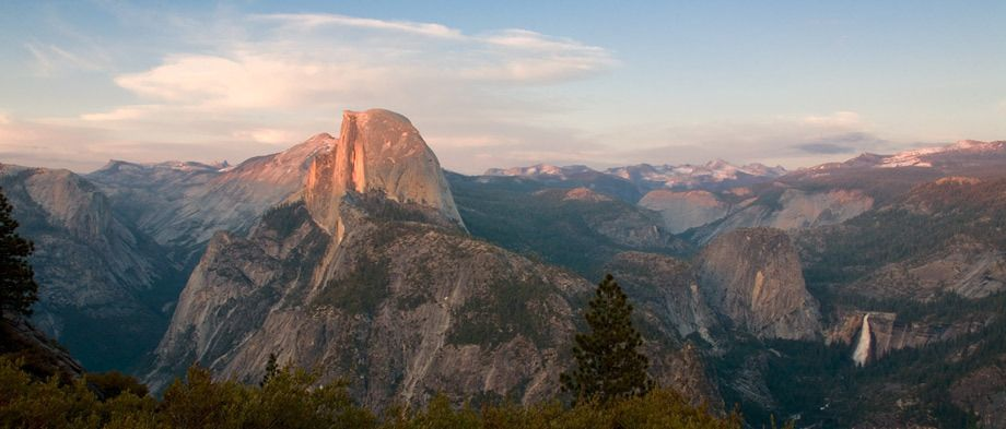 HALF DOME, WASHBURN POINTYOSEMITE NATIONAL PARK, CALIFORNIAIMAGE # 11380