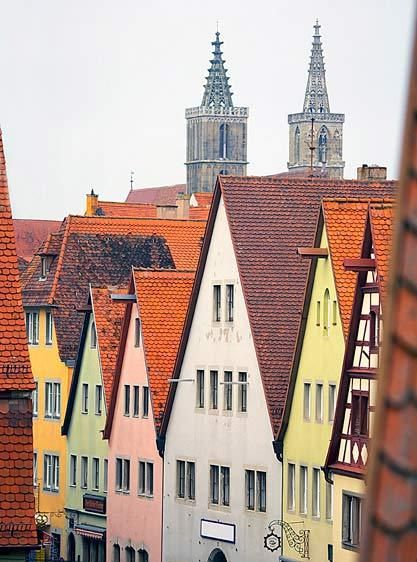 PEAKSROTHENBURG OB DER TAUBER, GERMANYIMAGE # 11420