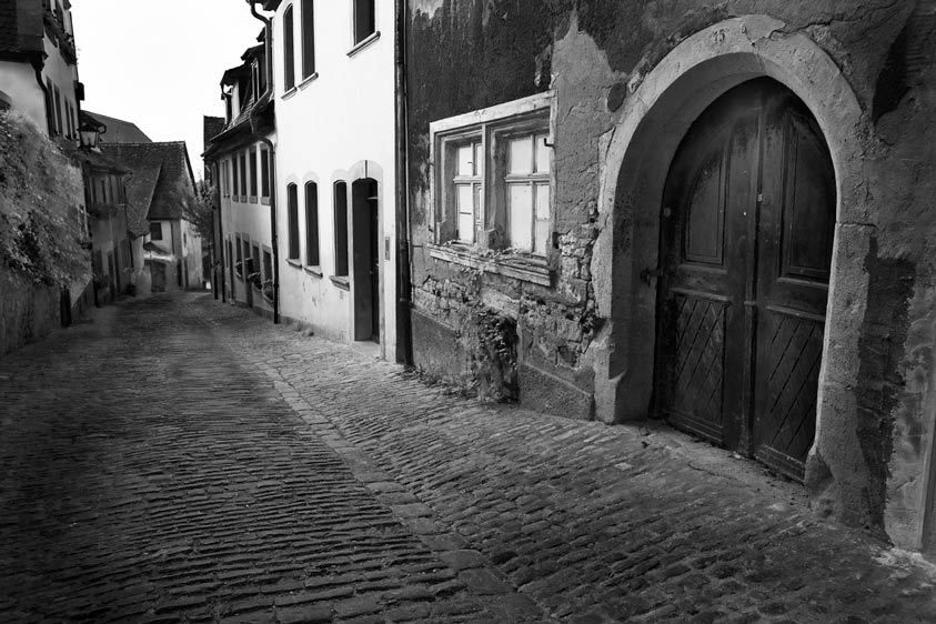 COBBLESTONE STREETROTHENBURG OB DER TAUBER, GERMANYIMAGE # 12187