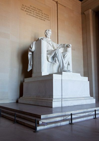 LINCOLN MONUMENTWASHINGTON, D.C.IMAGE # 12255