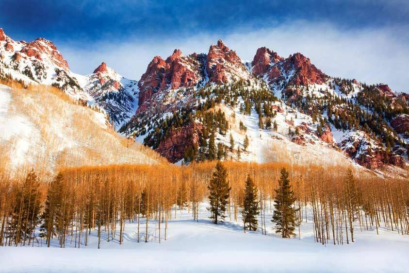 Sievers Mountain, Winter, Colorado