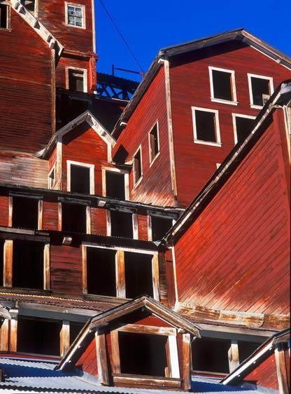 MILL, KENNECOTTWRANGELL-ST. ELIAS NATIONAL PARK, ALASKAIMAGE # 11271