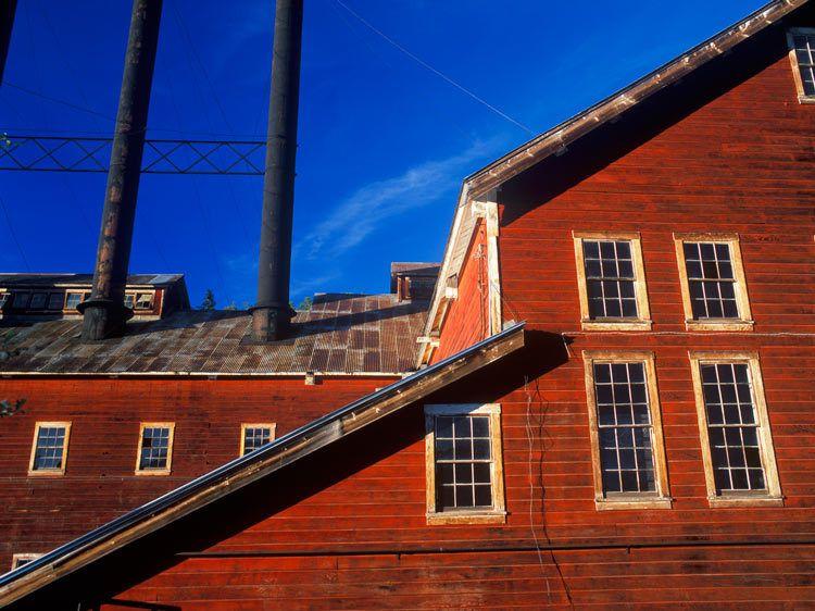 WINDOWS at POWER HOUSE, KENNECOTTWrangell-St. Elias National Park, AlaskaIMAGE # 11477