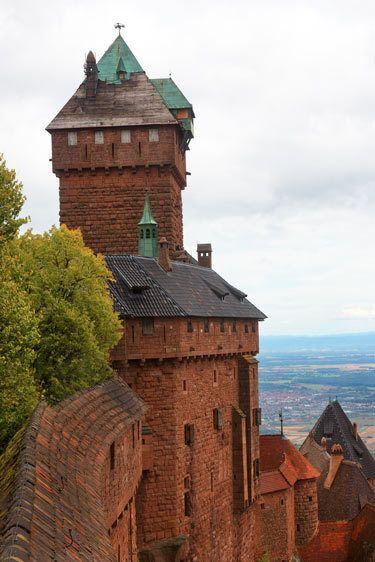Chateau du Haut-Koenigsbourg, France