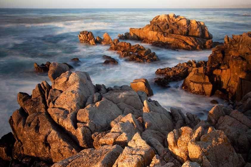 Sunset, Monterey Bay, Californa