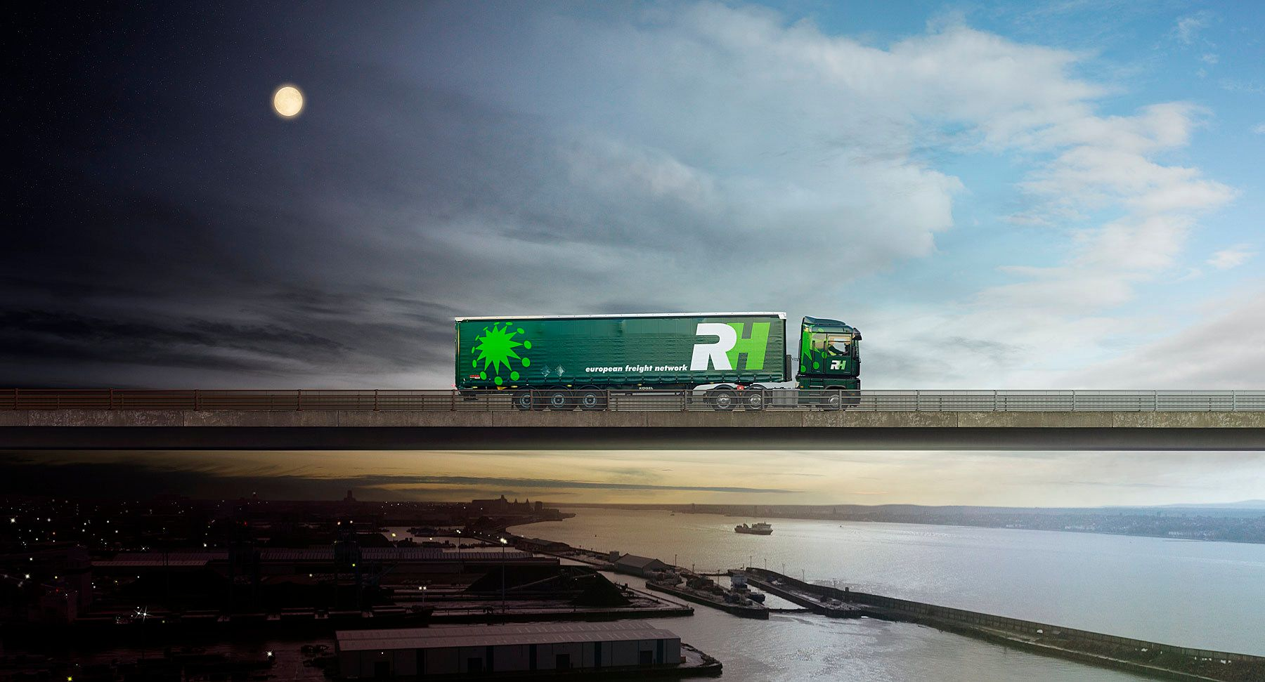 R&H logistics -overnight service