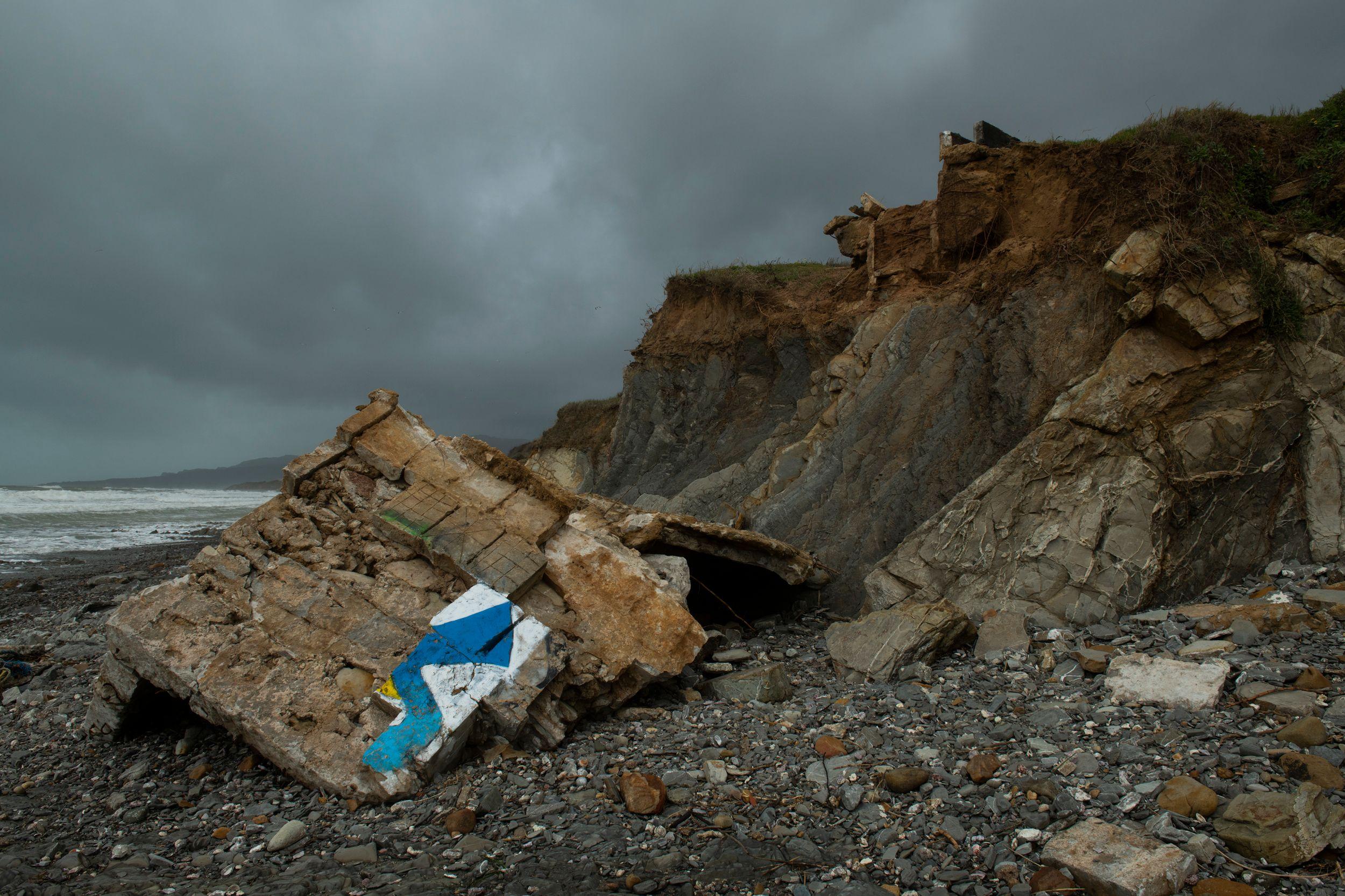 Tarifa Storm aftermath