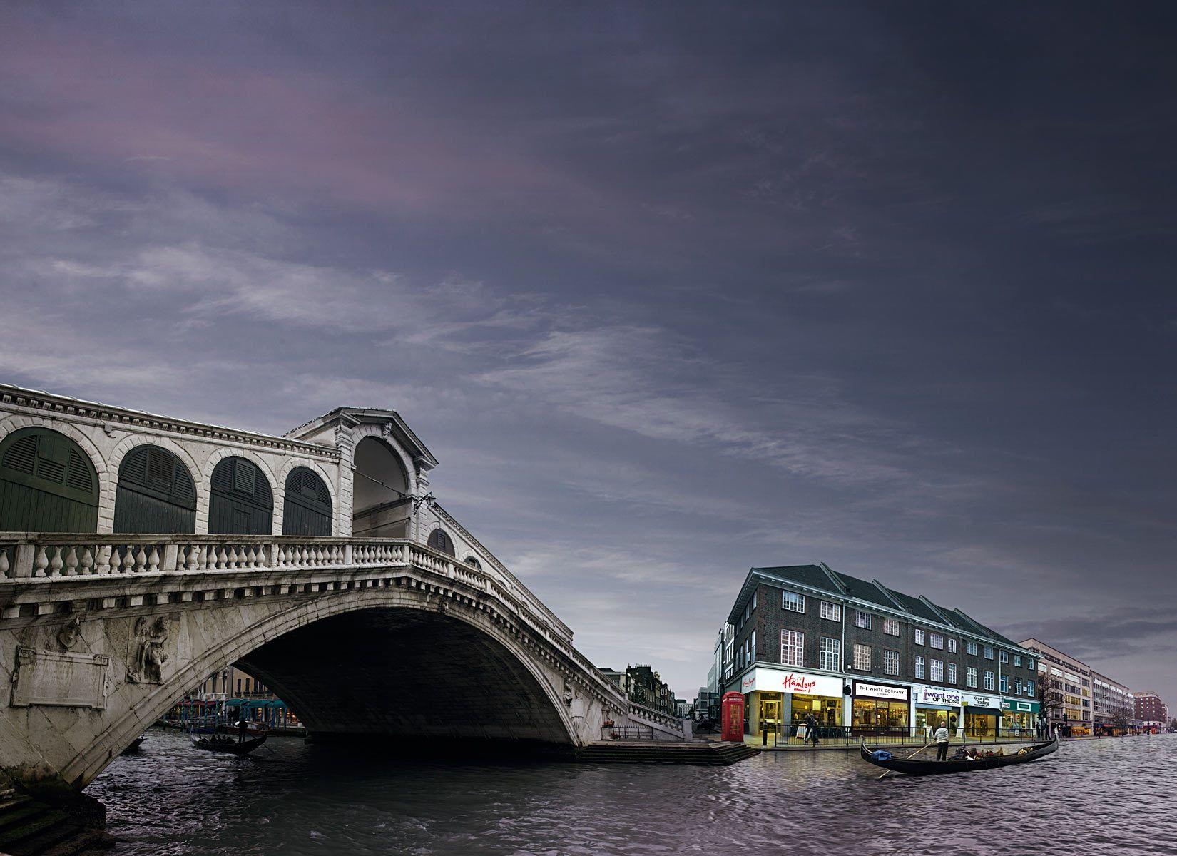 Venice,Rialto Bridge,Grand Canal