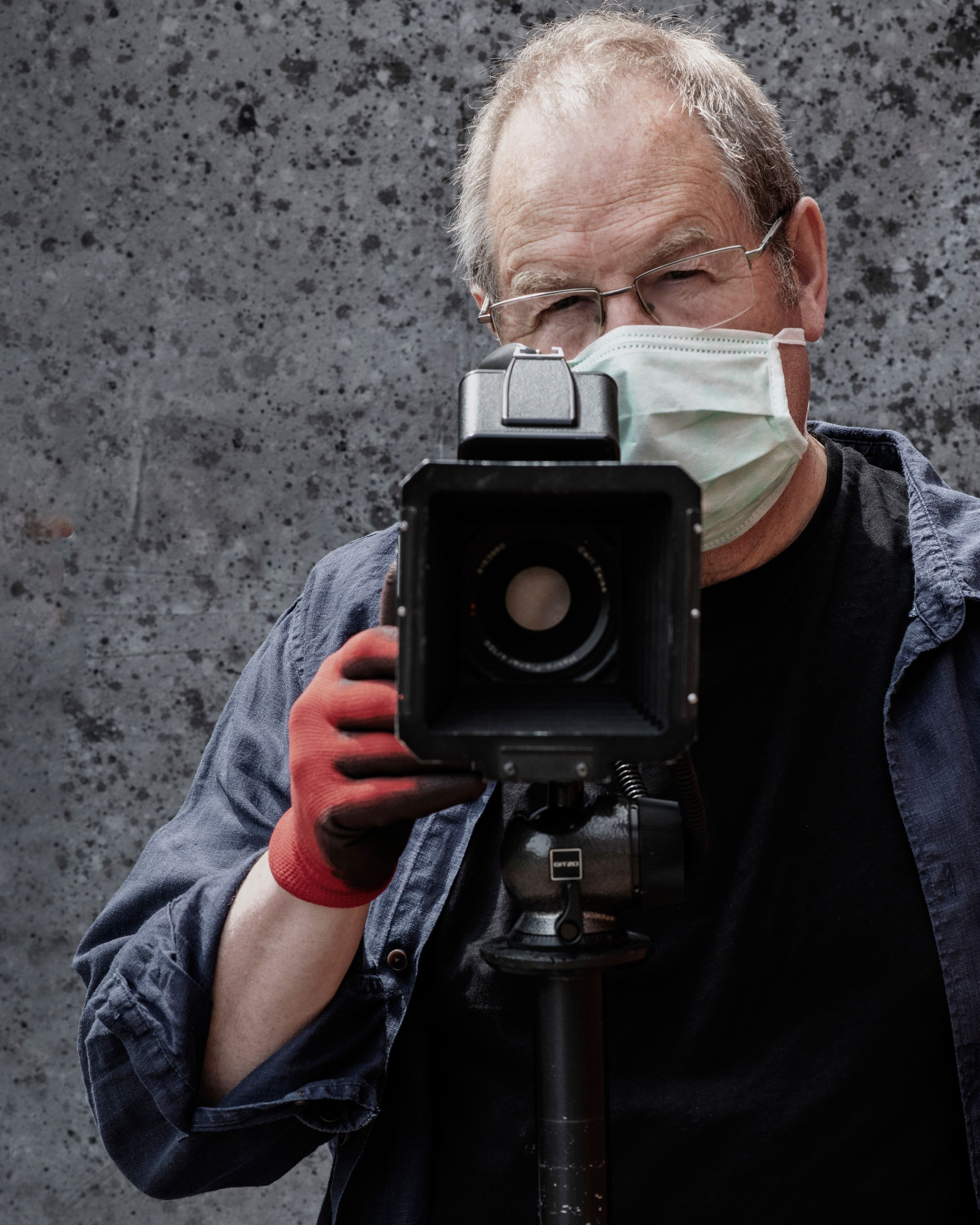 Mask and Gloves are just part of the protocol for a safe shoot