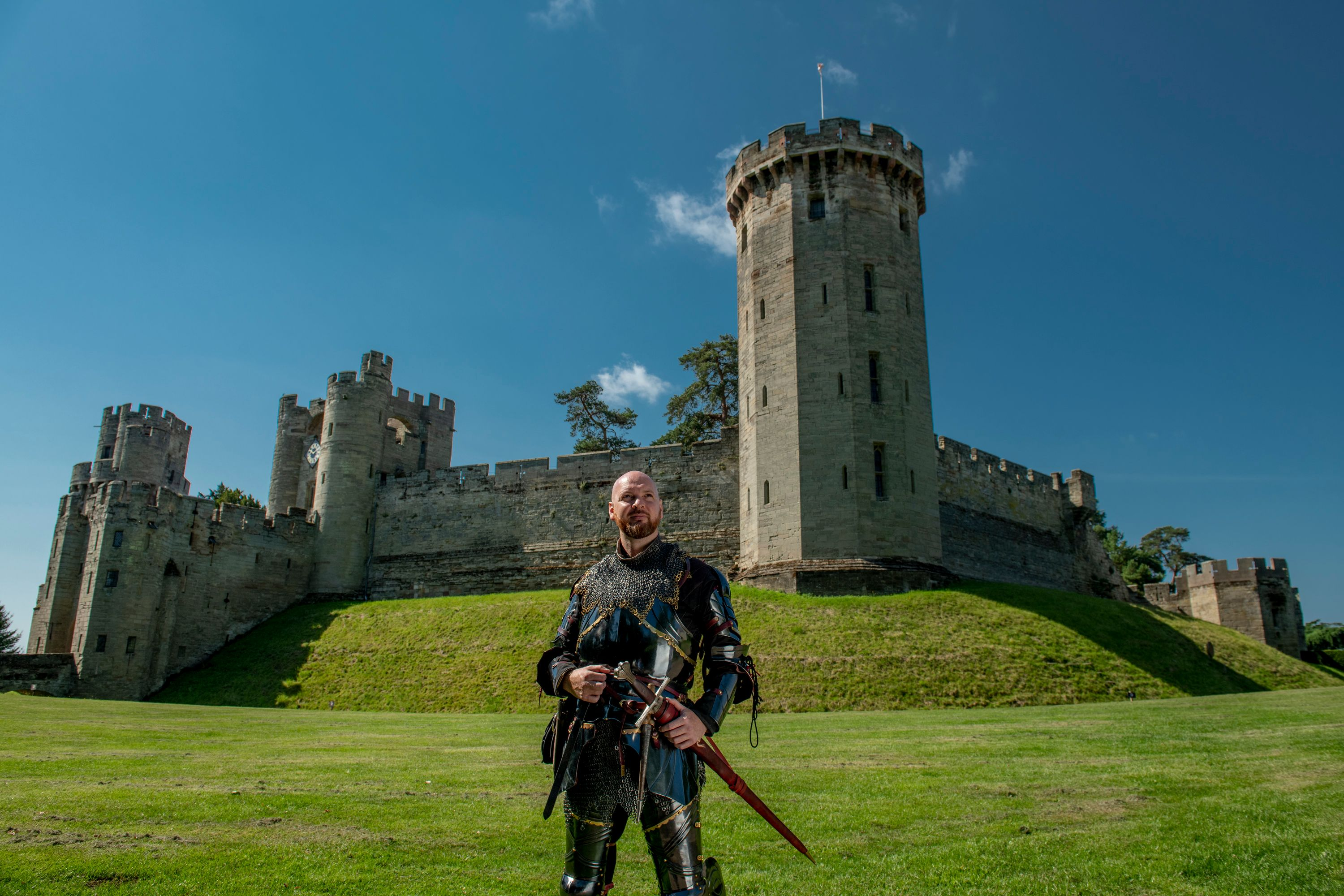 Warwick Castle - still from Video 'Welcome Back' to Shakespeare's England