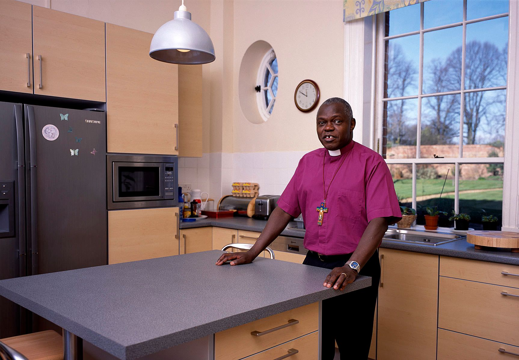 The Archbishop of York ,John Sentamu.