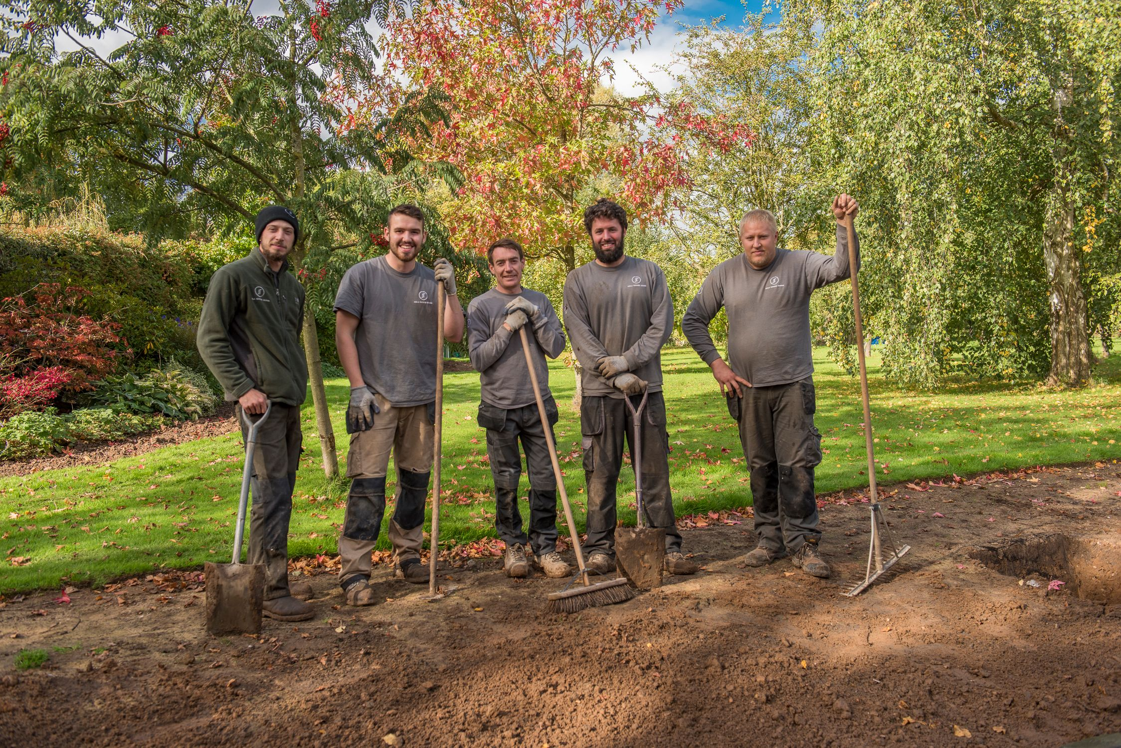 Portrait of Garden Design crew