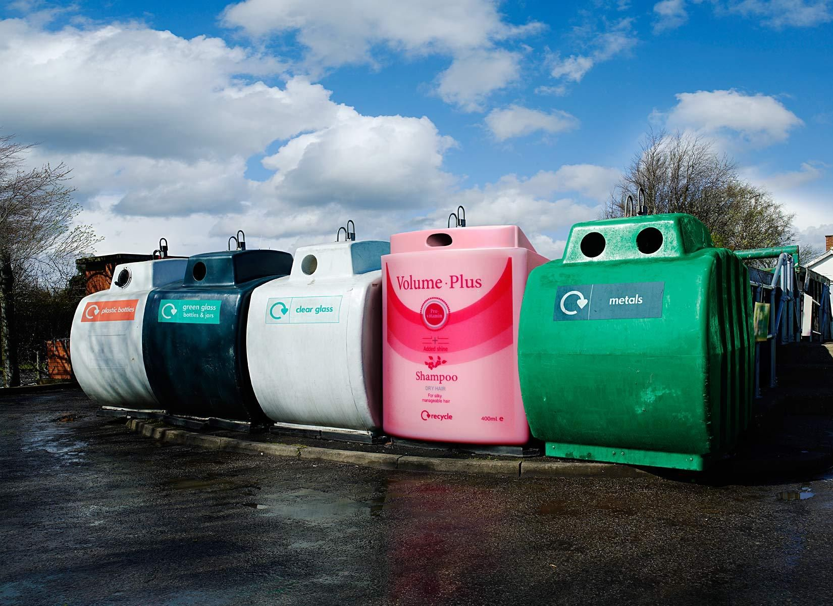 WRAP recycling  advertising campaign