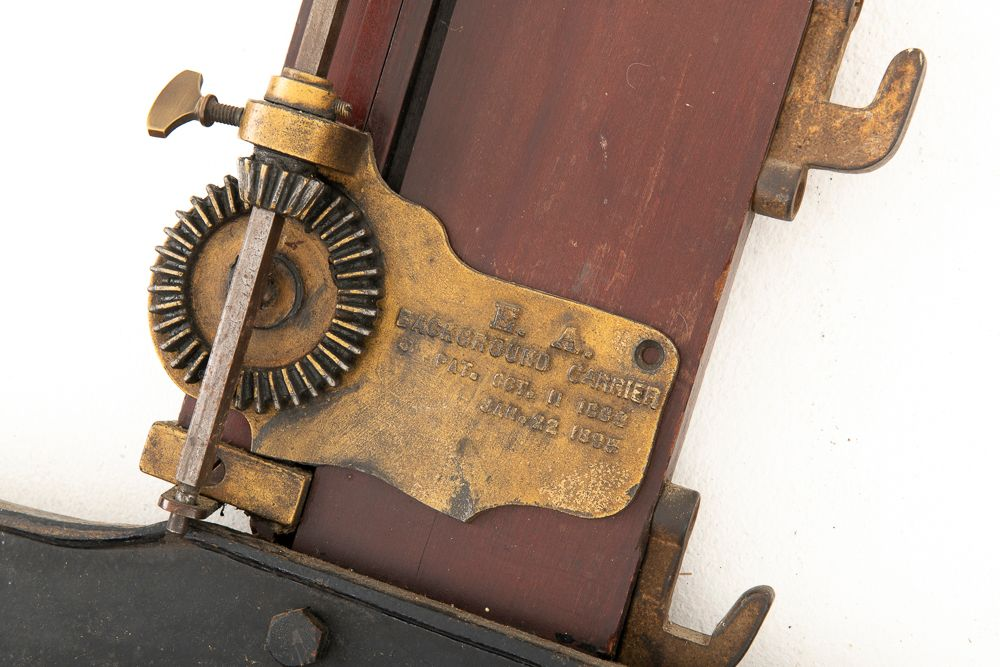 Detail of gear mechanism  with 1895 date