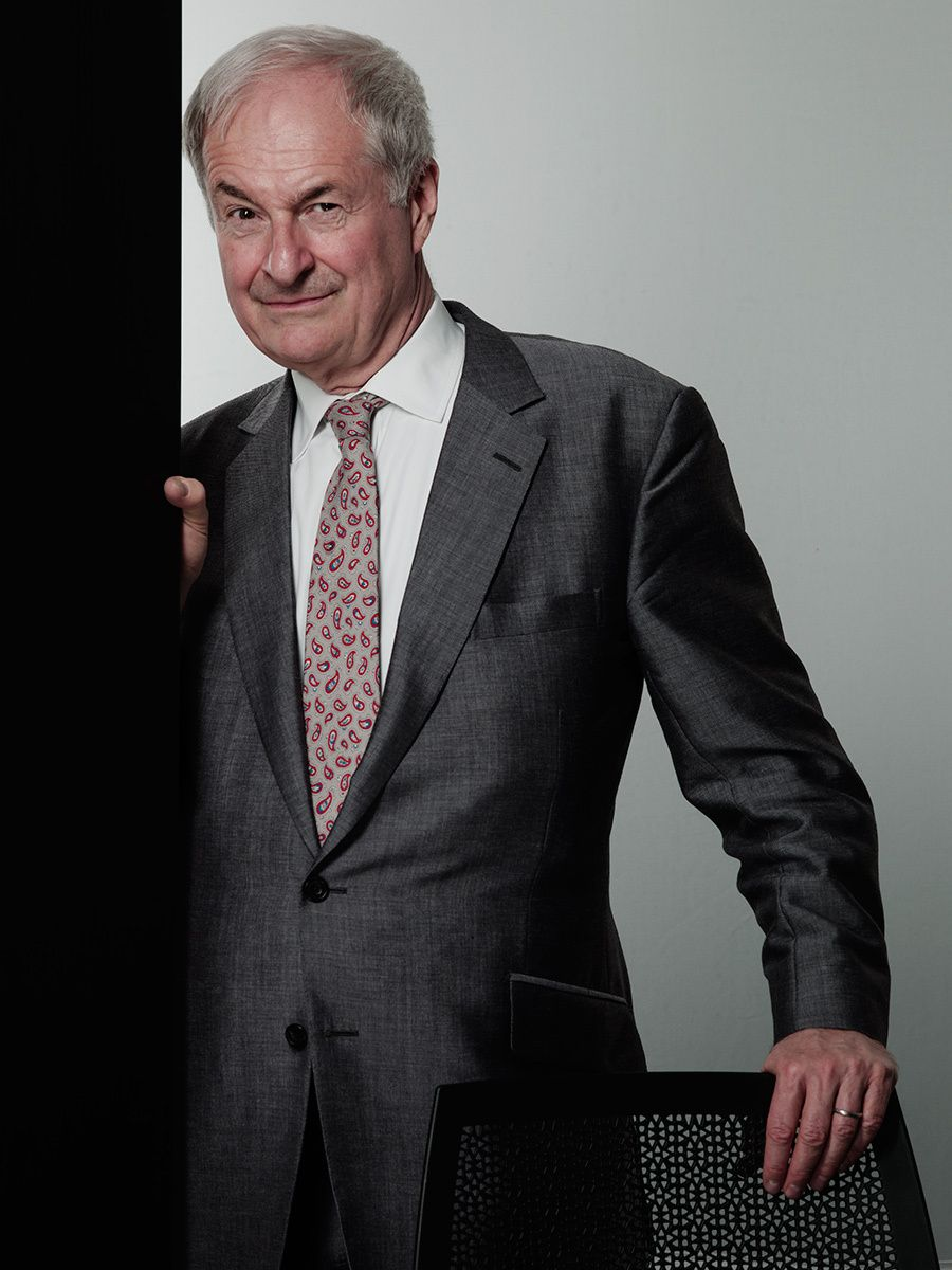 Paul Gambaccini - BBC presenter of pop an classical music. One of the great voices on radio with encylopdic knowledge of music  in many genre.
