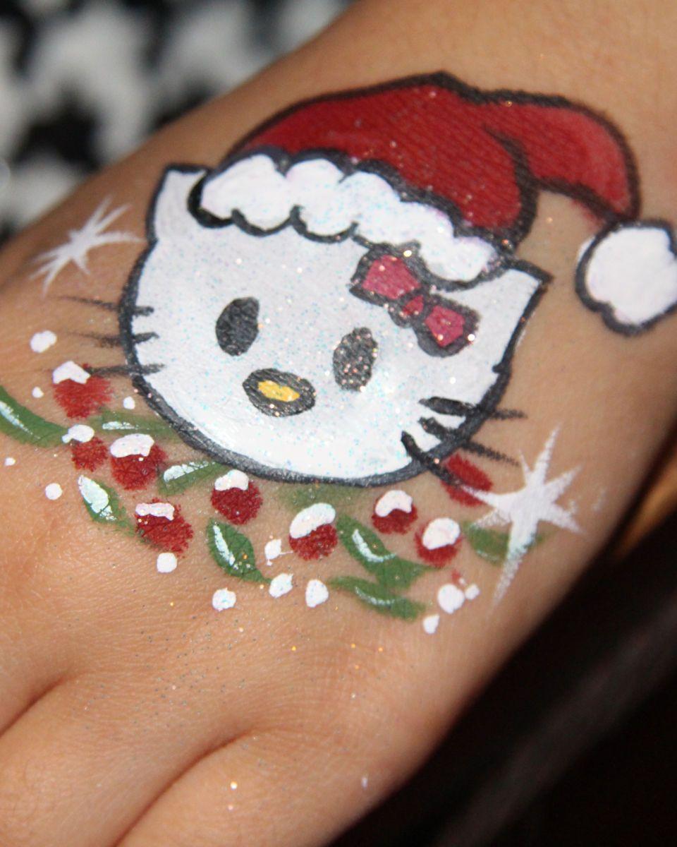 1chicago_face_painter_valery_lanotte___kitty_christmas