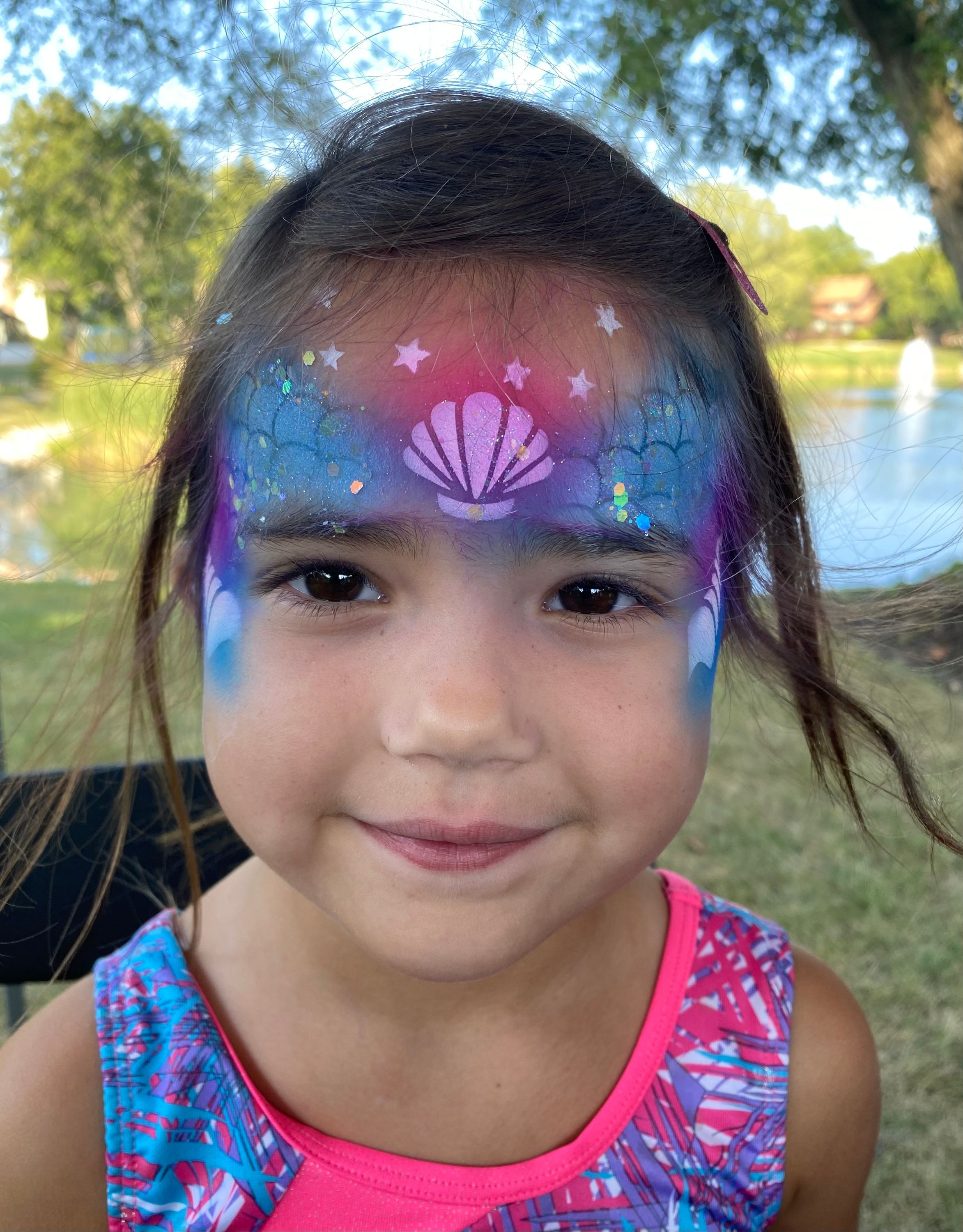 Face Painting by Valery - Airbrush Mermaid