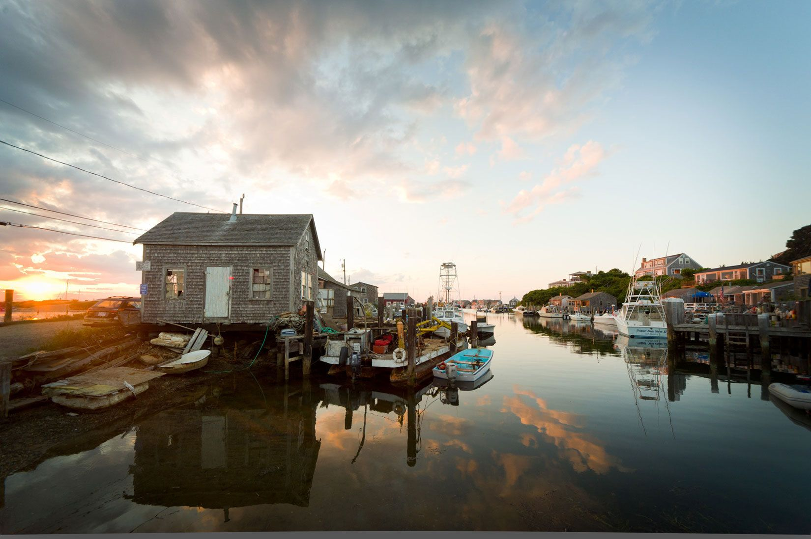From the porch of The Galley, Menemsha
