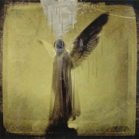 Blind Angel  /  mixed media on aluminum board  /  30 x 30 inches / sold
