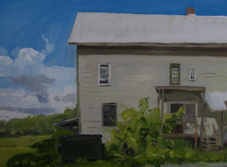 """Studio Early   12"""" x 16"""", 2010"""