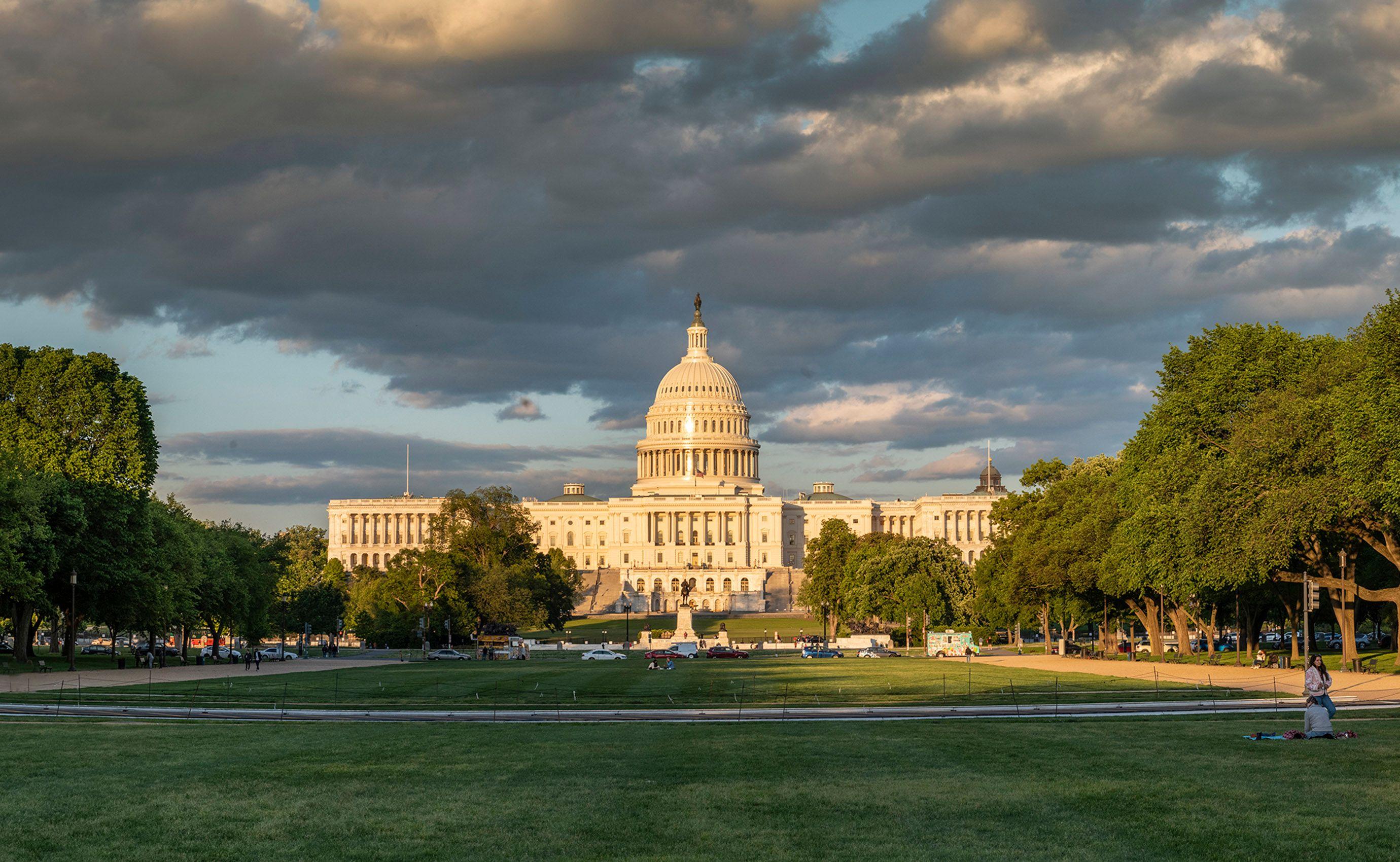 U.S. Capitol, Golden Hour