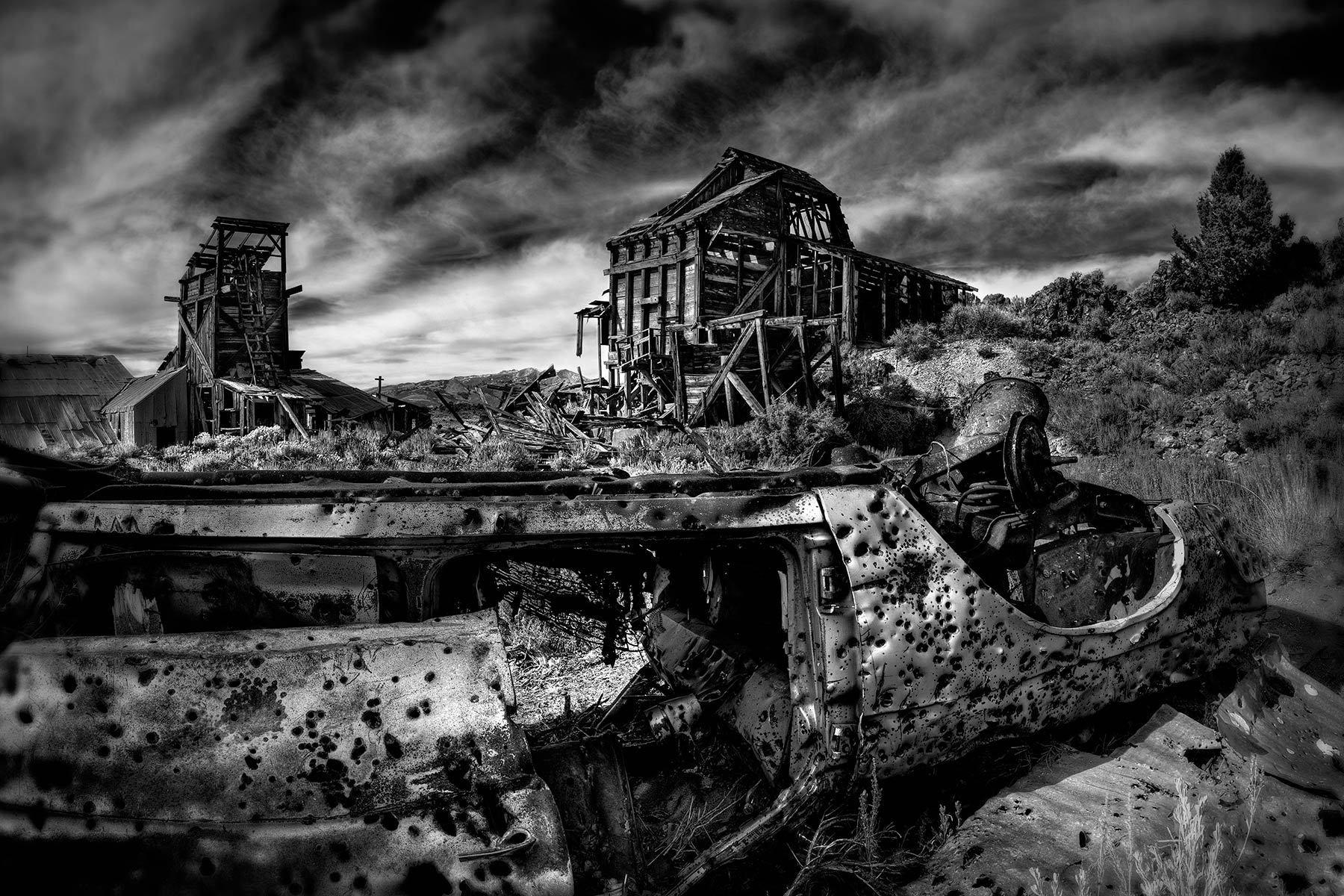 Chemung Mine Ruins, California