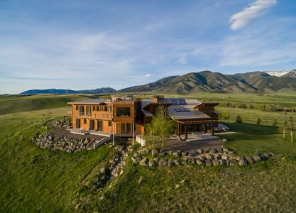 Private residence north of Bozeman, MT