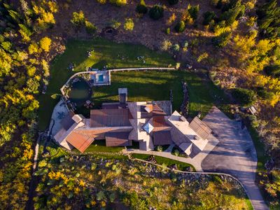 Straight down, 13,000 sq ft home
