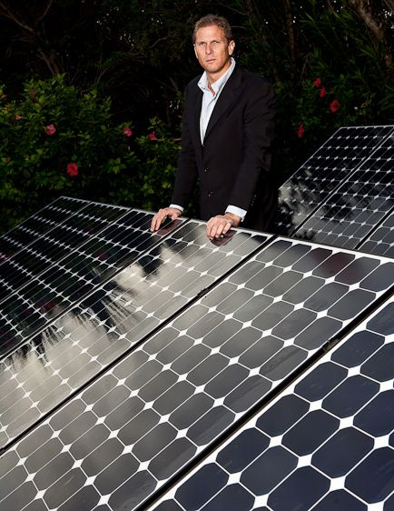 Tim Madeiros, Alternative Energy SystemsFor The Bermudian Business Magazine Eco Issue 'Green Business'