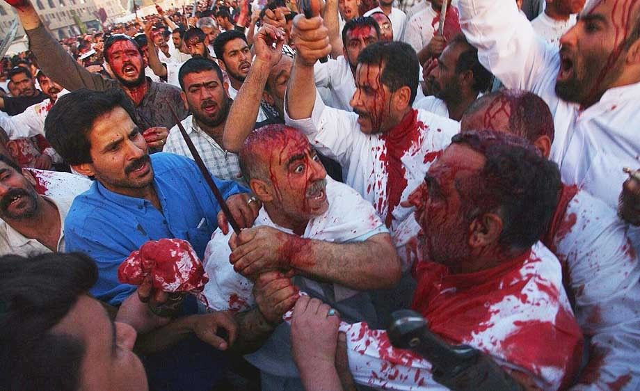 Iraq Shiite Sacrifice