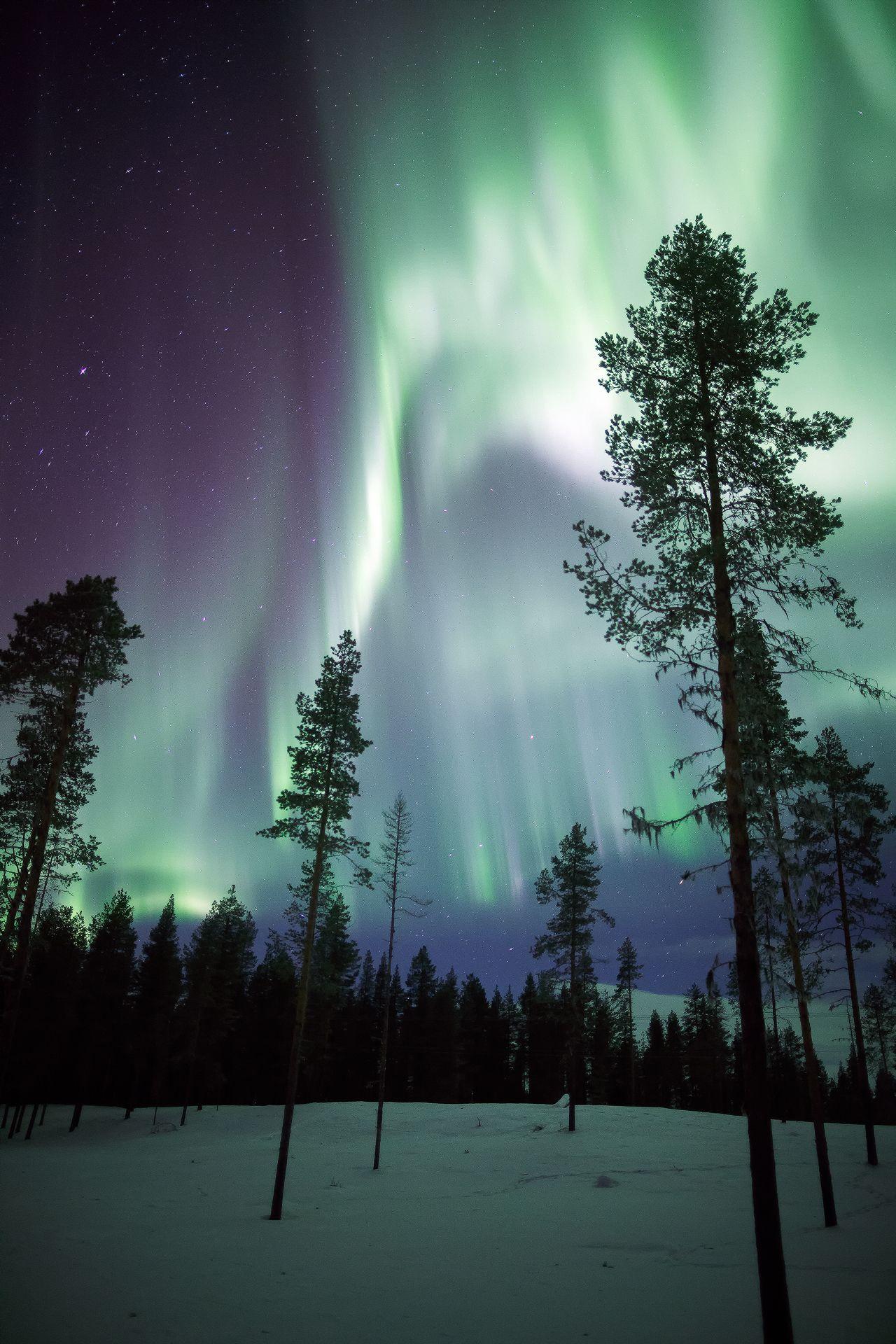 Sweden light show