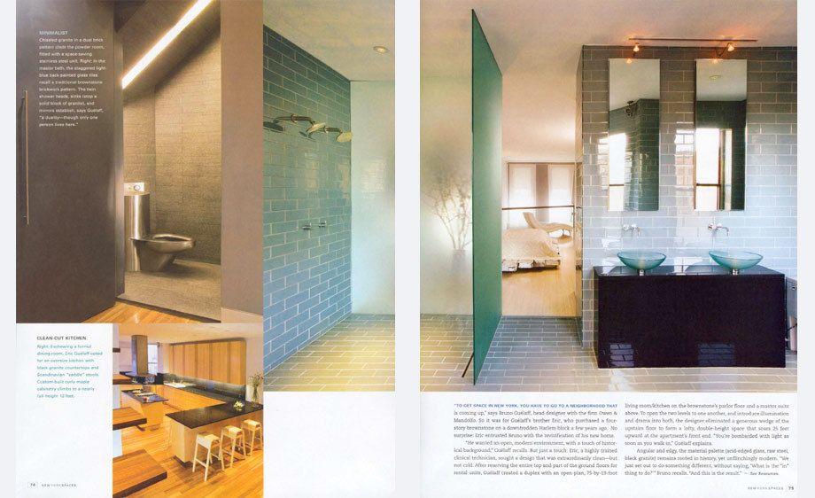 New York Spaces magazine,   New York