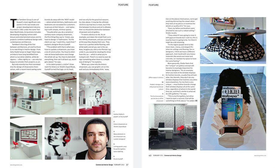 Commercial Interior Design, GCC