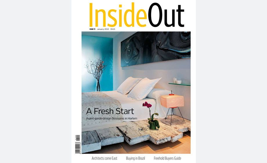 InsideOut magazine,  Dubai