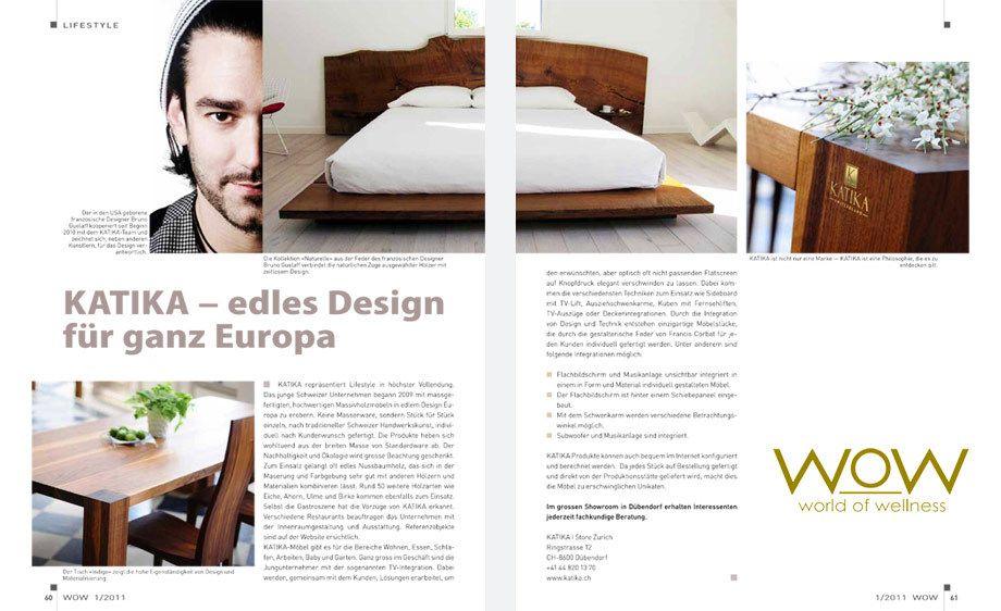 World of Wellness magazine,   Switzerland