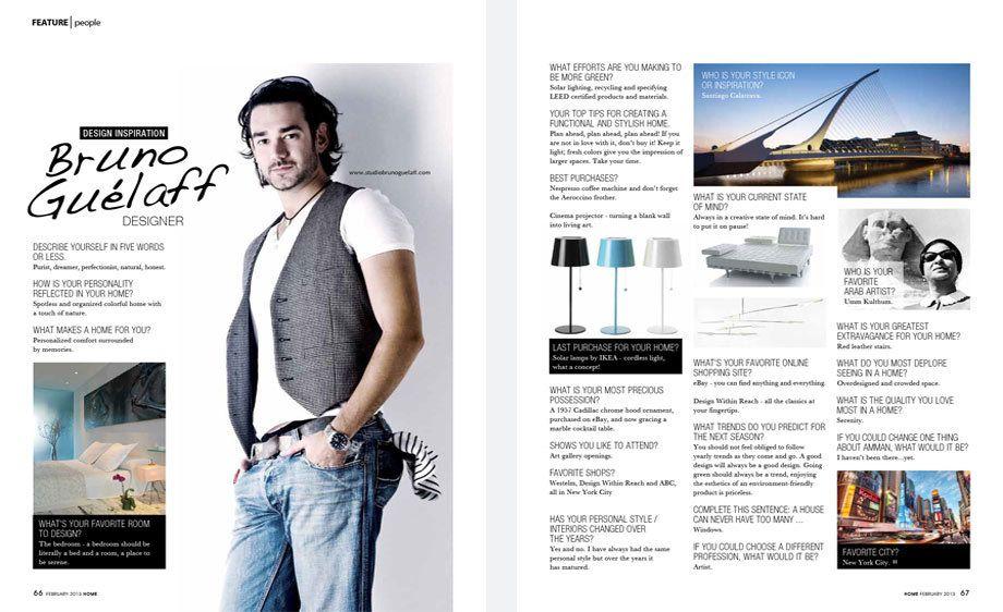 Home magazine,  Jordan