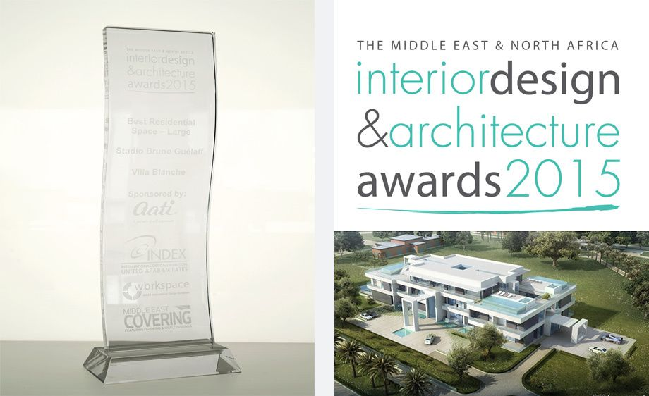 The Middle East & North Africa Interior Design & Architecture Awards 2015