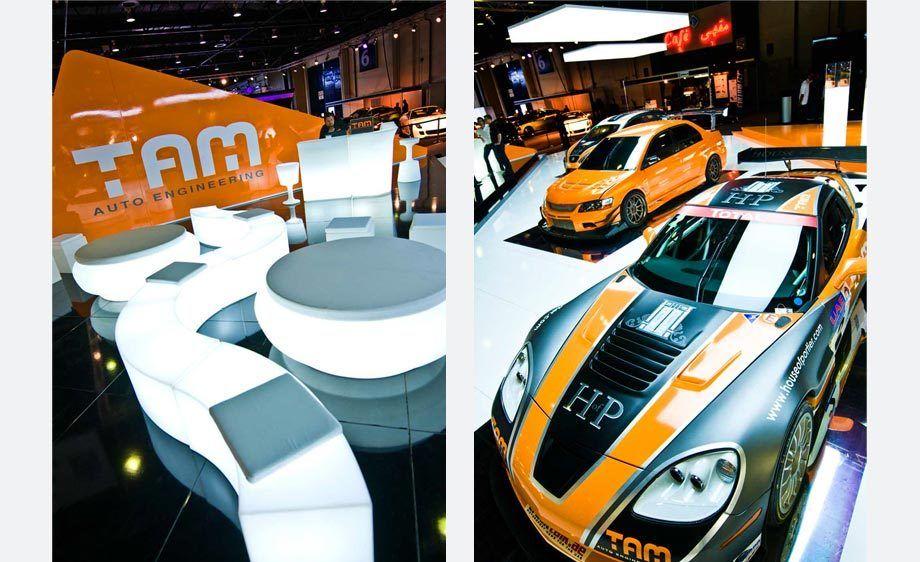 Tam Auto Engineering - identity project