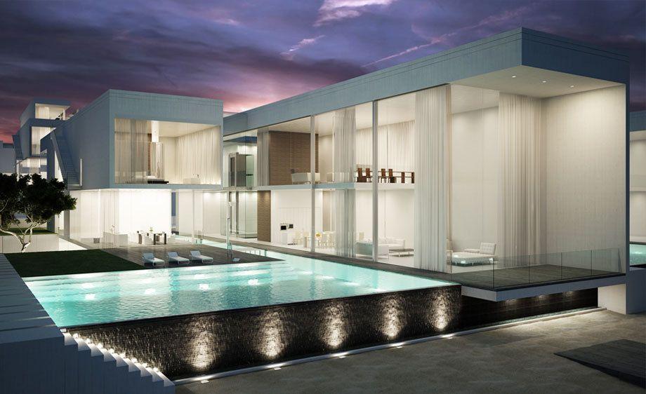 Palm Jumeirah Crescent villas,  Dubai