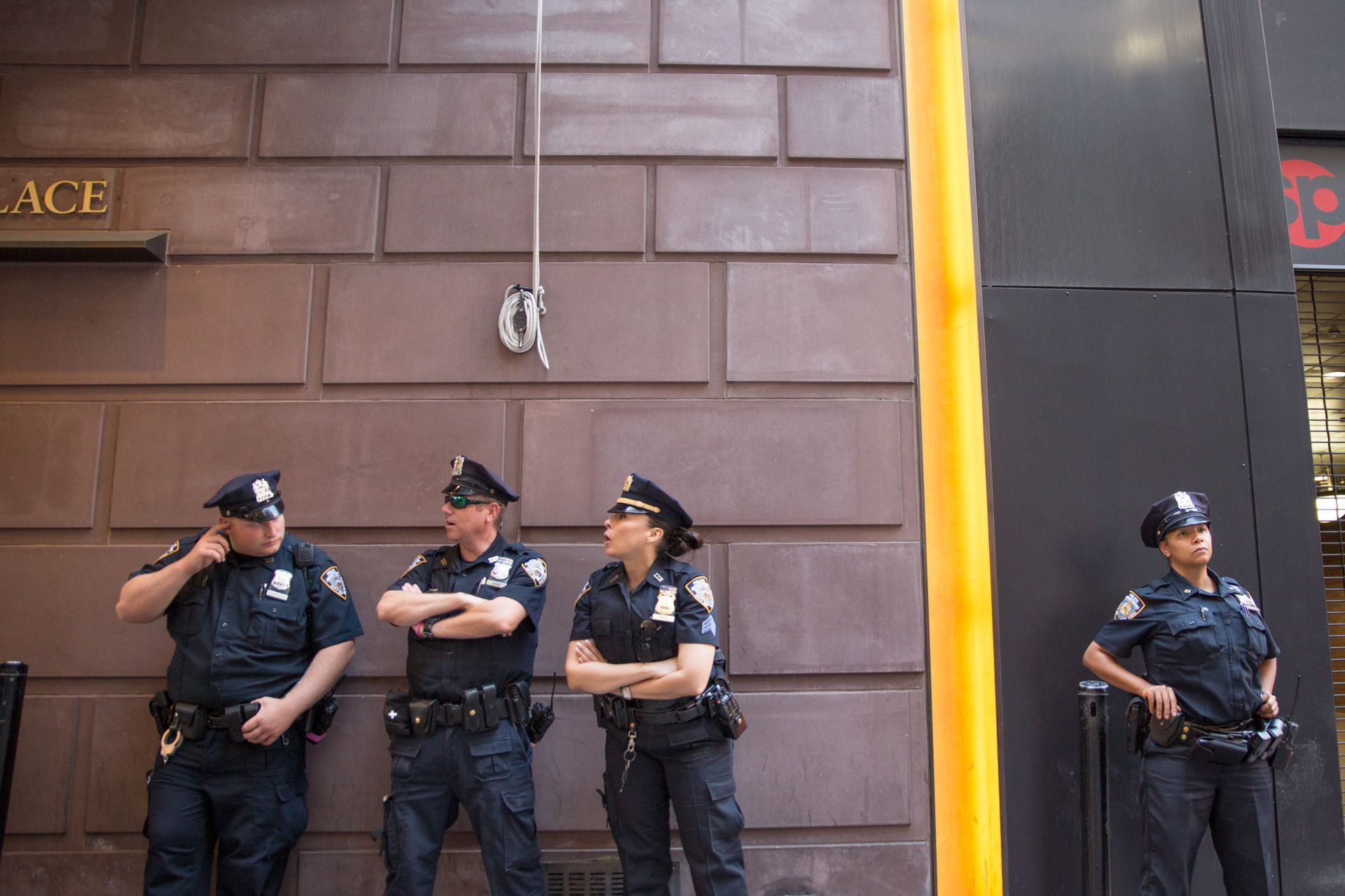NYC's Finest On the Job?