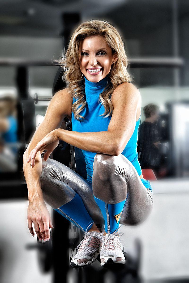 Randalene Sergent in the Gym