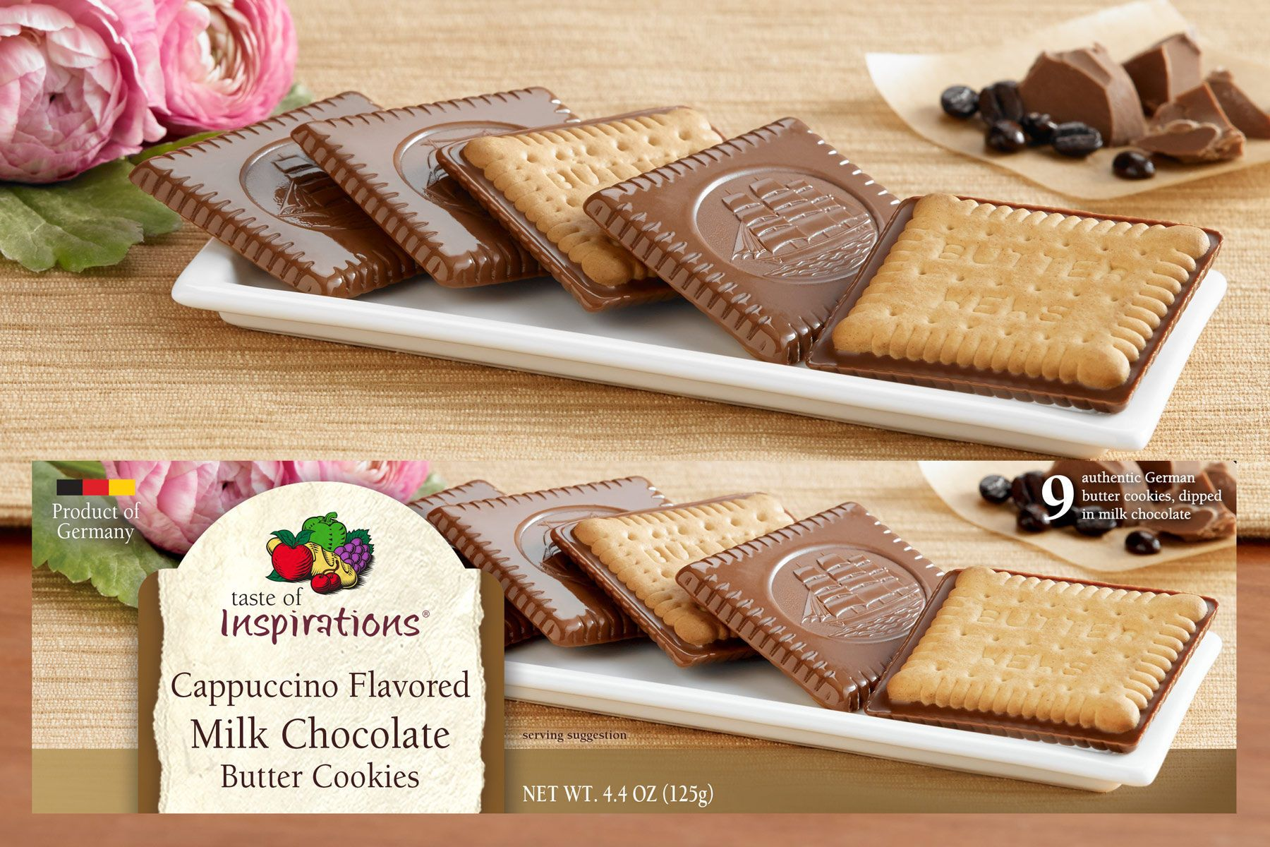 Taste of Inspirations Cookies for DelHaize America