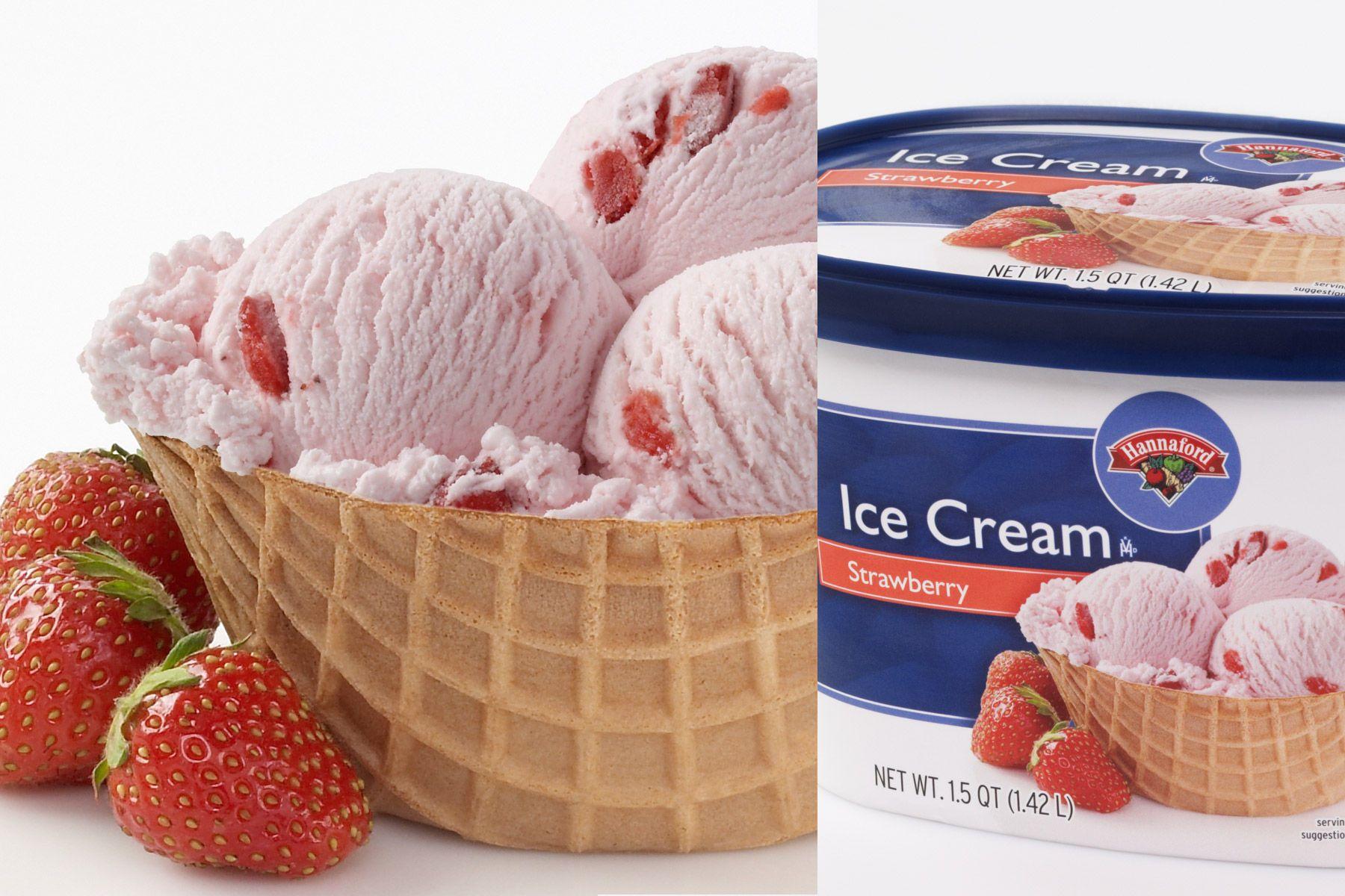 Hannaford Ice Cream Packaging