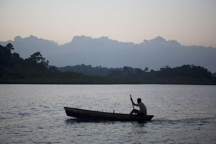 Croc Hunting, Andaman Islands, India