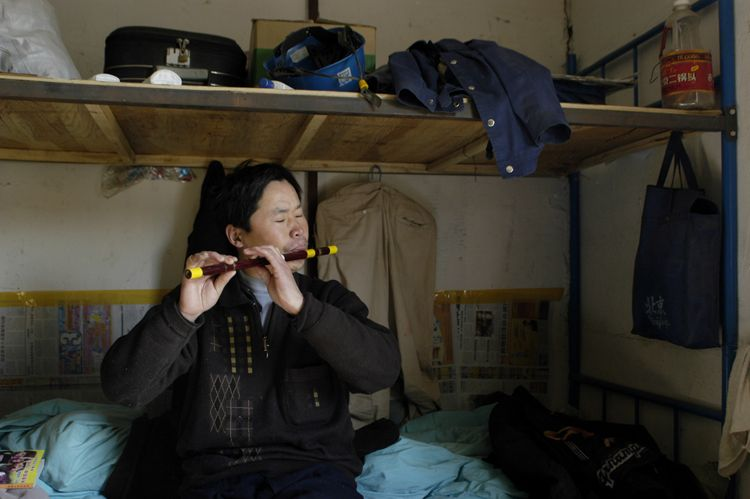 Migrant Worker Dorm, Beijing, China