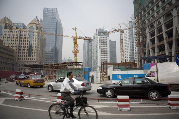 Skyline, Beijing, China