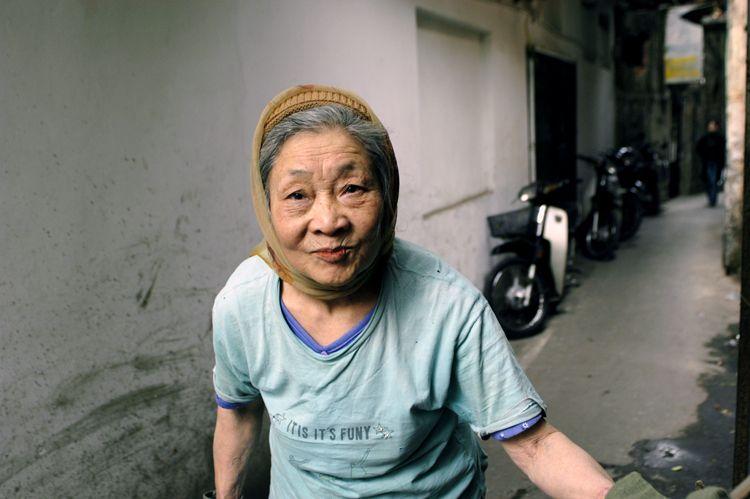 Grandmother, Hanoi, Vietnam